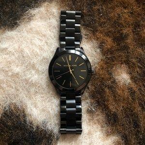 Michael Kors MK3221 Slim Runway Black Watch